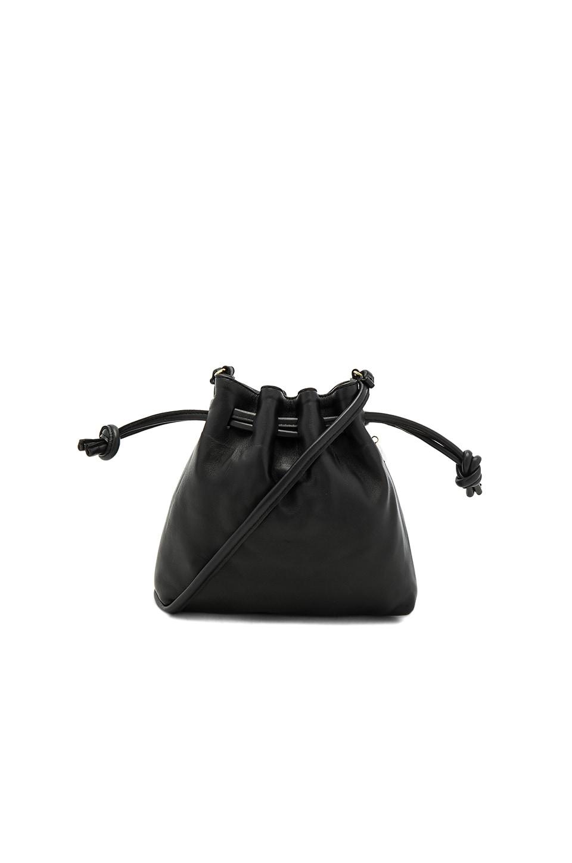 Clare V. Petit Henri Maison Bag in Black Nappa