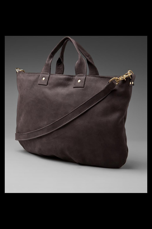 Clare V. Messenger Bag in Dark Grey