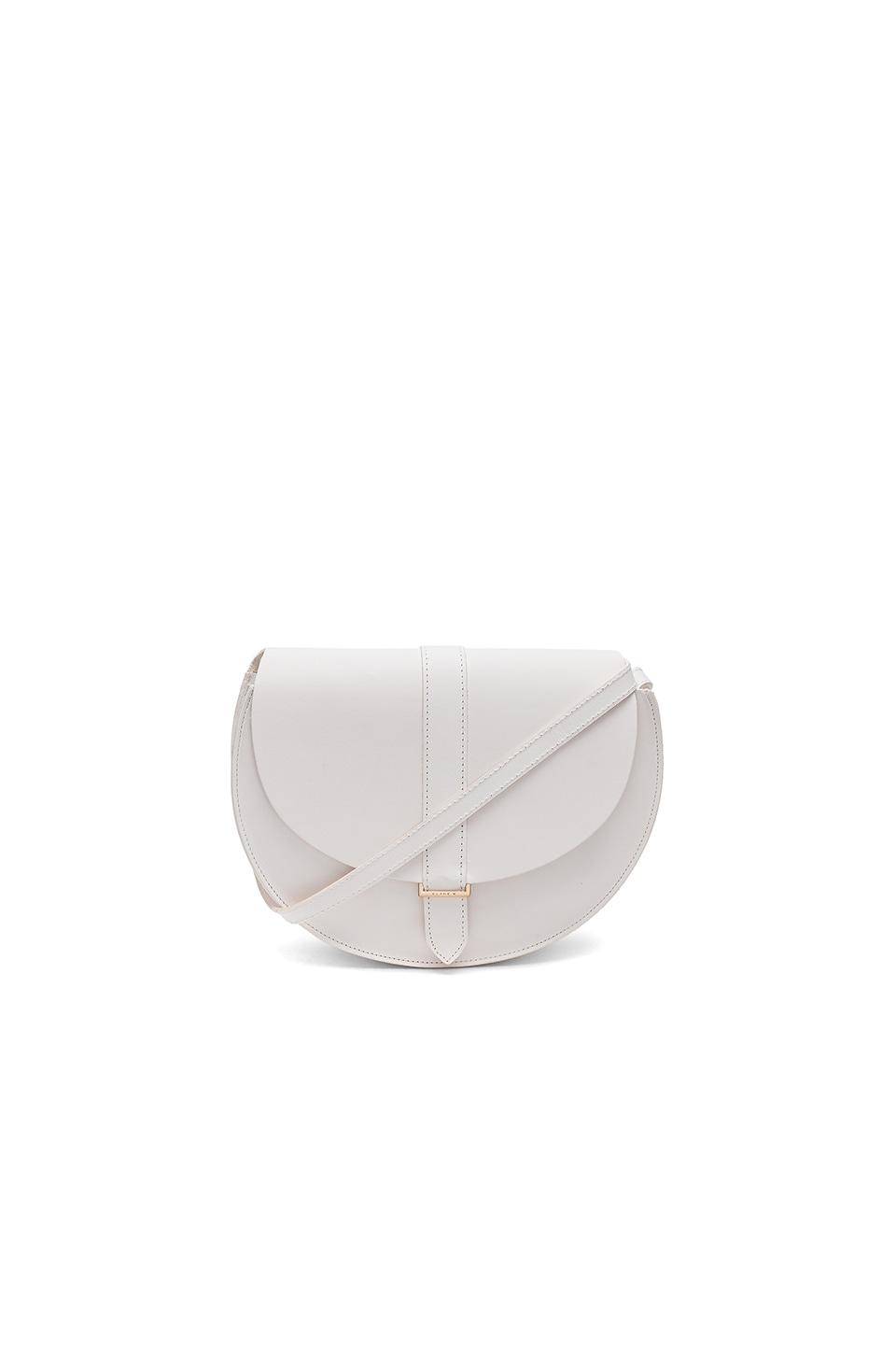 Clare V. Luce Bag in White