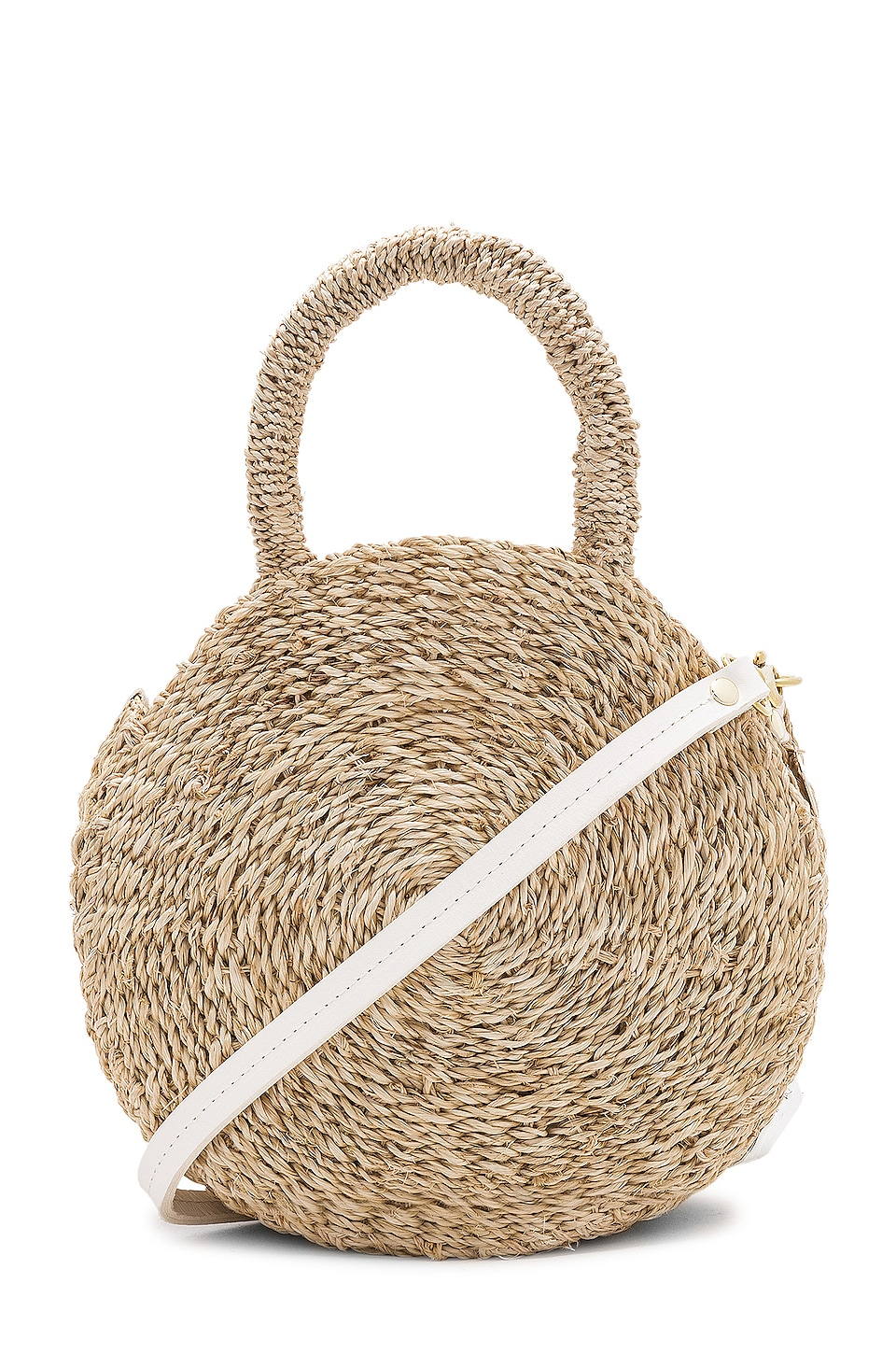 Clare V. Petite Maison Alice Bag in Cream Woven