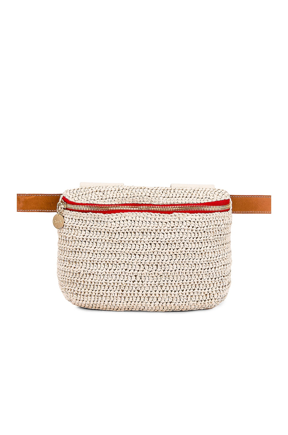 Clare V. Fanny Pack in Cream