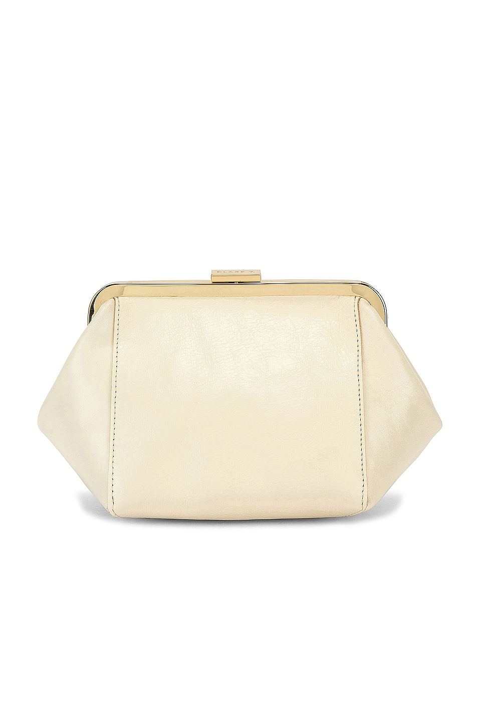 Clare V. Le Box Bag in Cream
