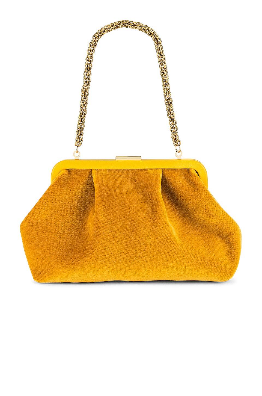 Clare V. Sissy Mini Bag in Goldenrod