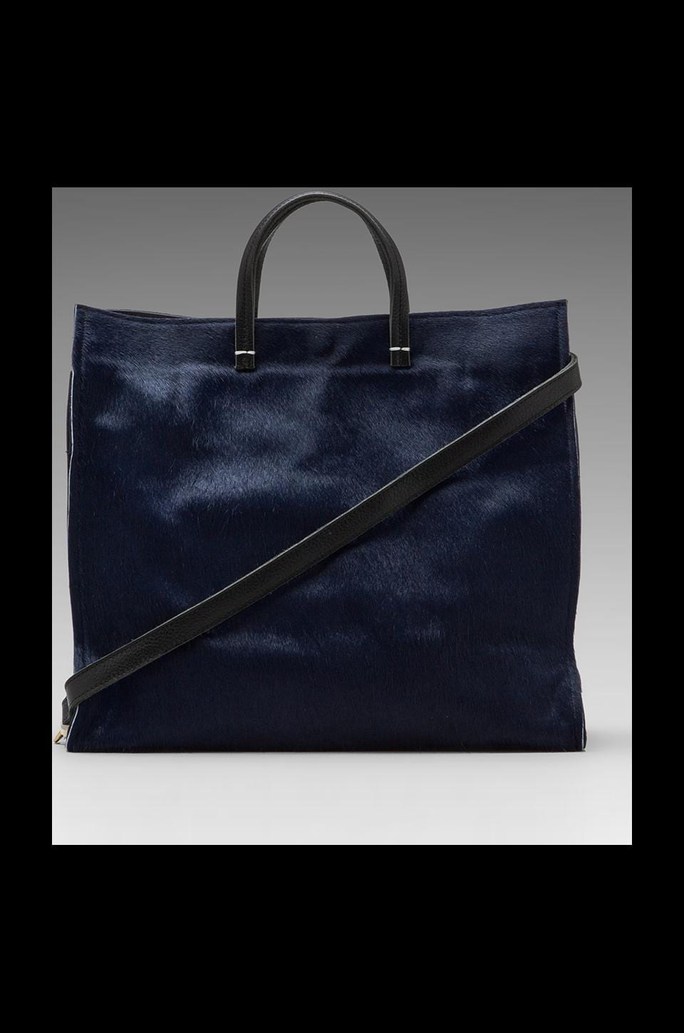 Clare V. Simple Tote in Navy