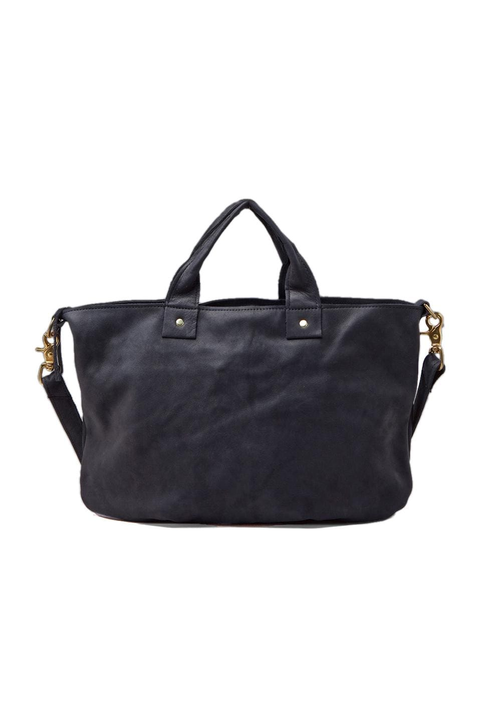 Clare V. Messenger Bag in Navy