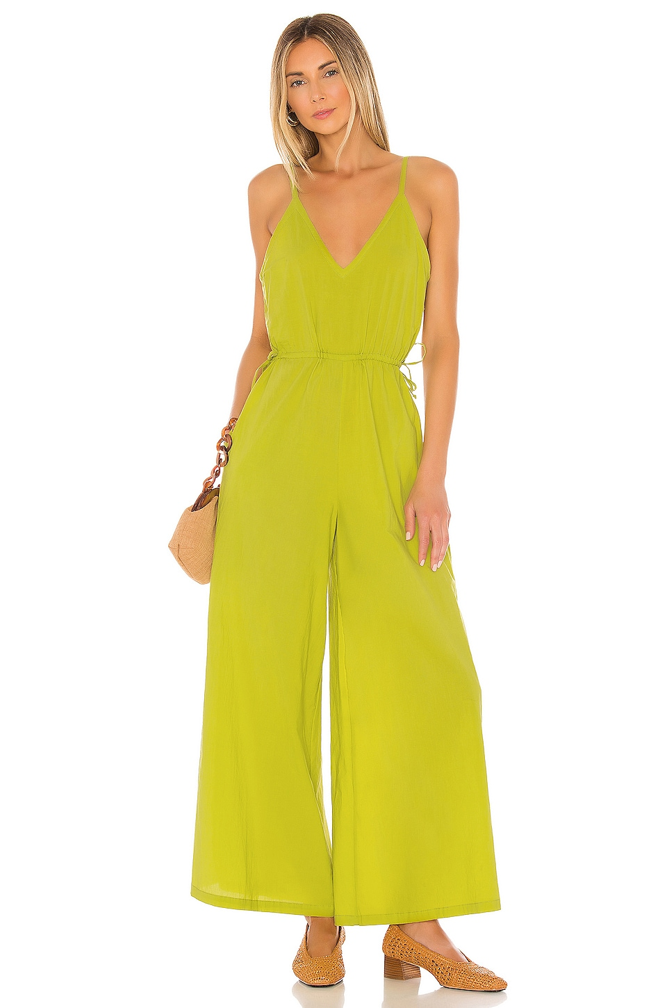 Cleobella Melody Jumpsuit in Citron