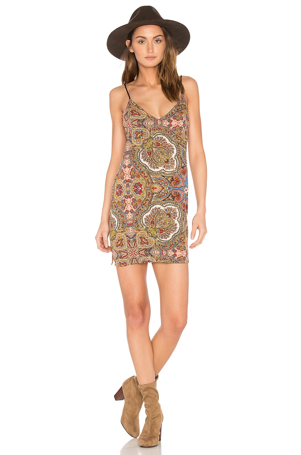 Cleobella Leanne Slip Dress in Rocker Paisley