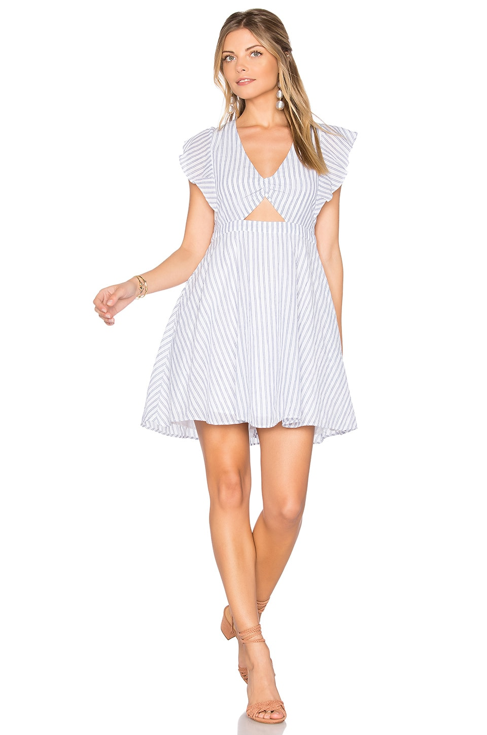 Cleobella Nieve Dress in Trinidad Stripe