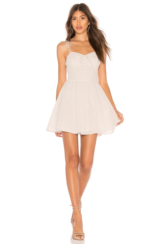 Cleobella X REVOLVE Lennon Short Dress in White Multi Lurex