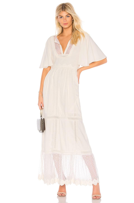 Cleobella Taj Dress in Ivory