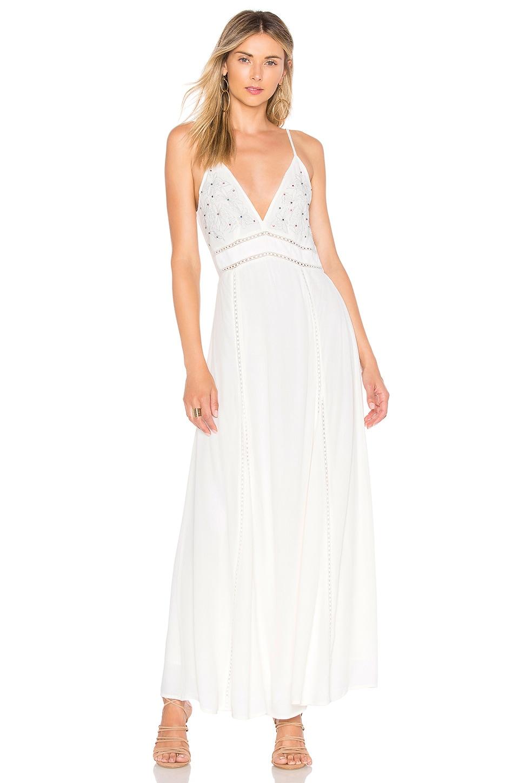 Cleobella Eli Slip Dress in White