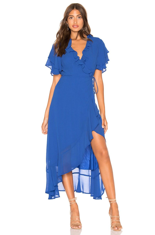 Cleobella Eliana Dress in Cobalt