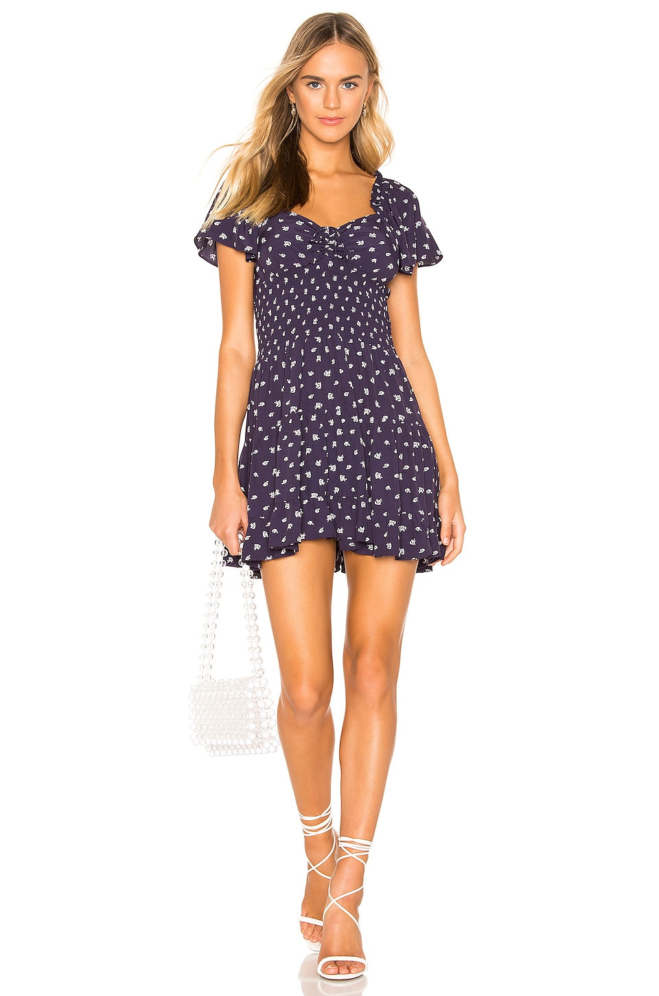 Cleobella Anne Dress in Navy