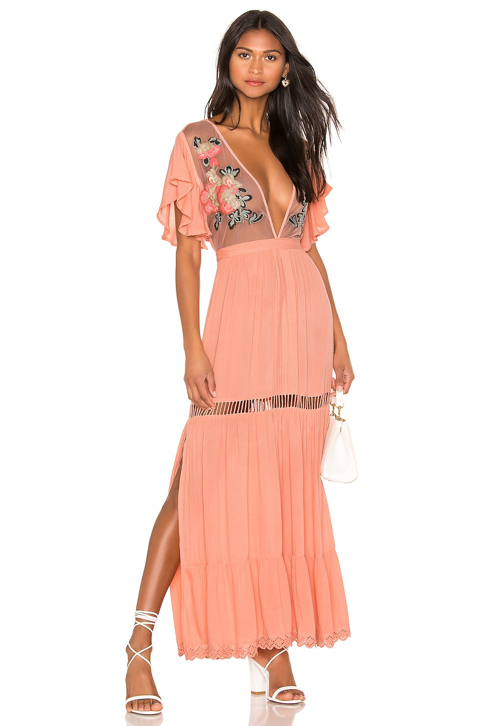 Cleobella X REVOLVE Amery Dress in Peony
