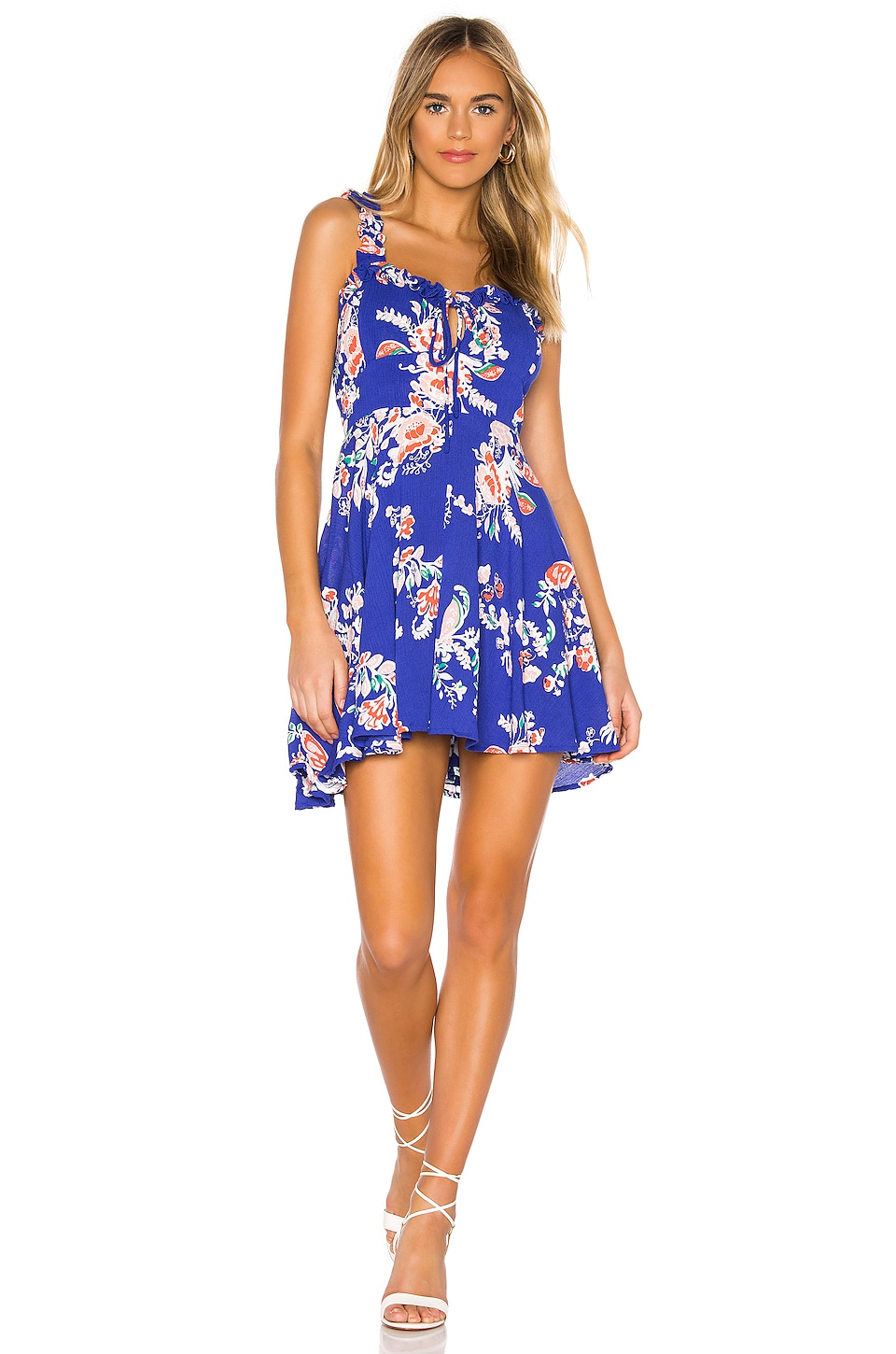 Cleobella Pippa Dress in Blue Gardenia