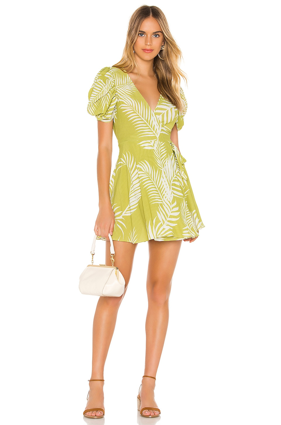 Cleobella Remington Dress in Citron