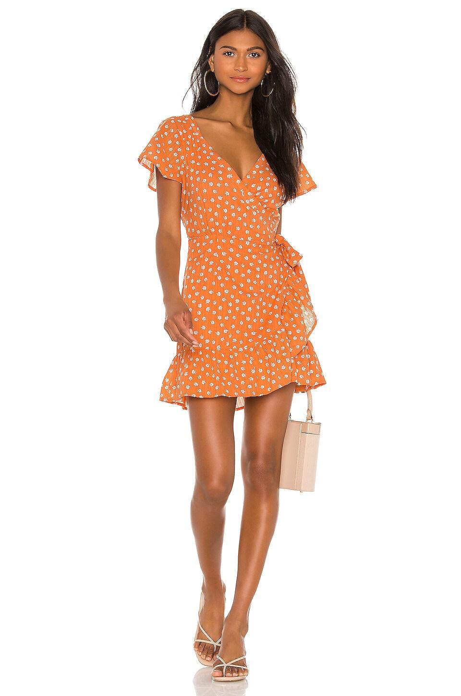 Cleobella Alexia Short Dress in Copper