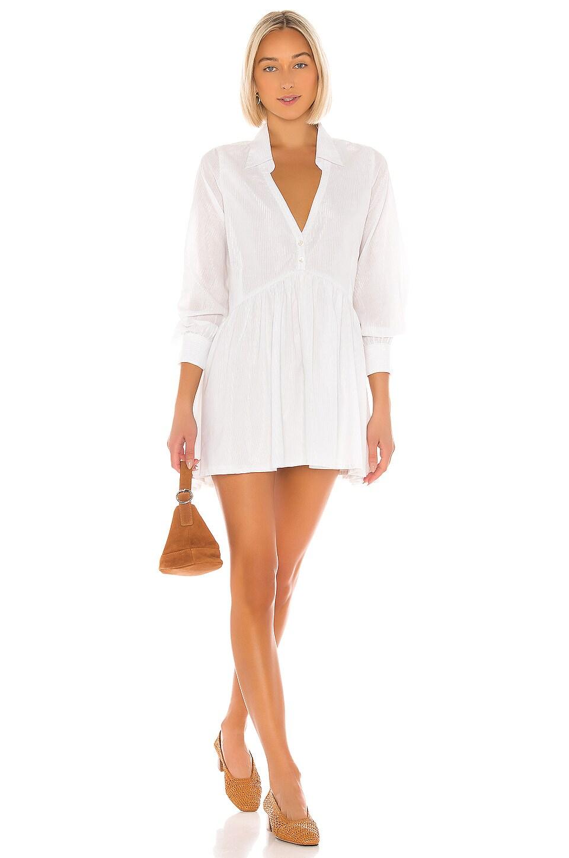 Cleobella x REVOLVE Elin Mini Dress in Ivory