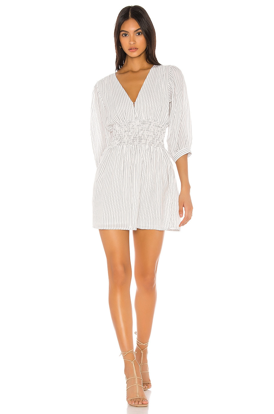 Cleobella Sadie Mini Dress in Ivory