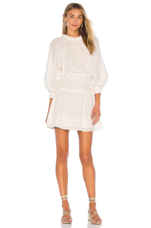 Cleobella Hayden Short Dress in Ivory