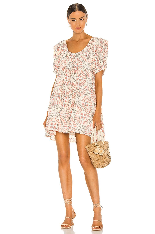 Cleobella Ferris Mini Dress in Tile Print