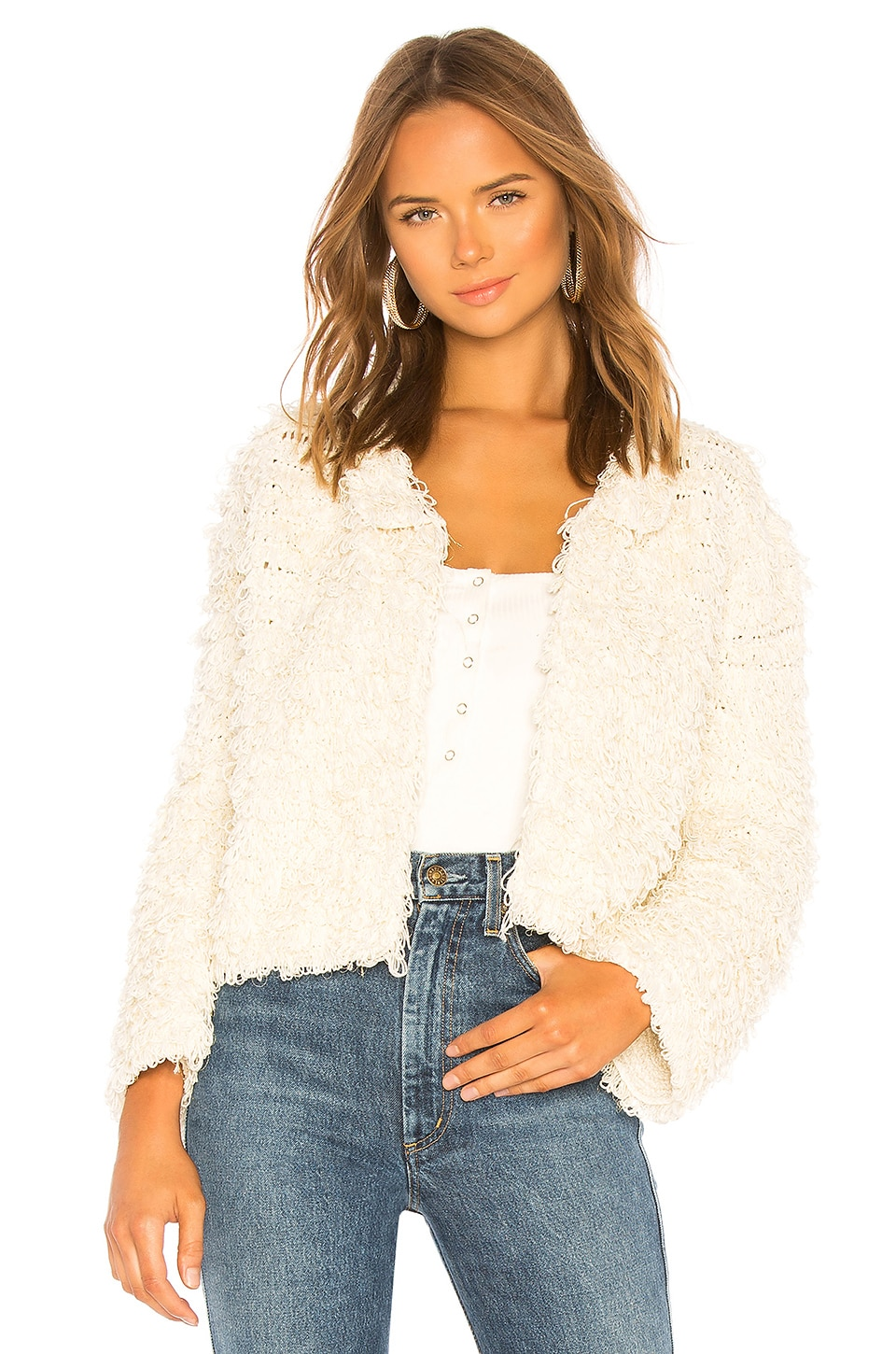 Cleobella Jada Jacket in White