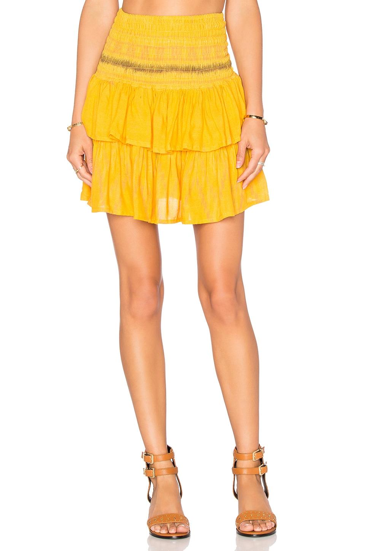 Cleobella Lara Skirt in Yellow
