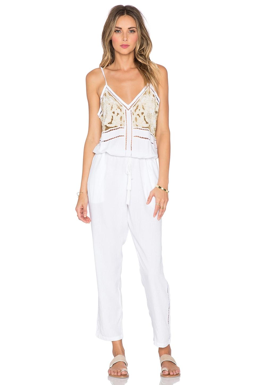 Cleobella Mona Jumpsuit in White