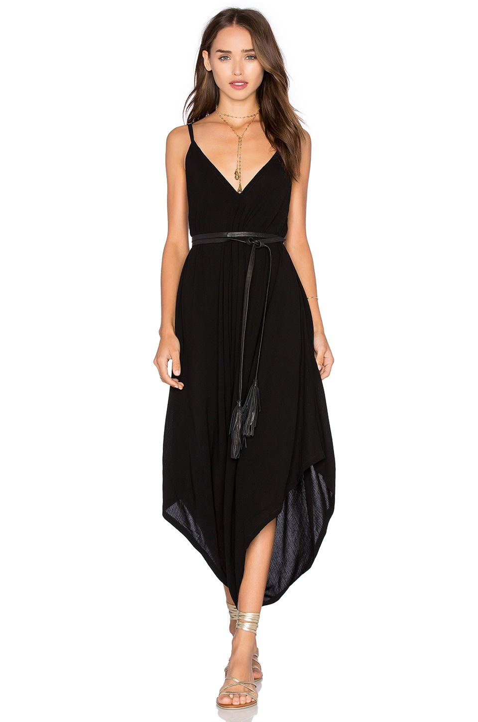 Cleobella Tate Jumpsuit in Black