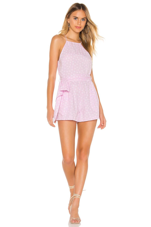 Cleobella Austin Romper in Lavender