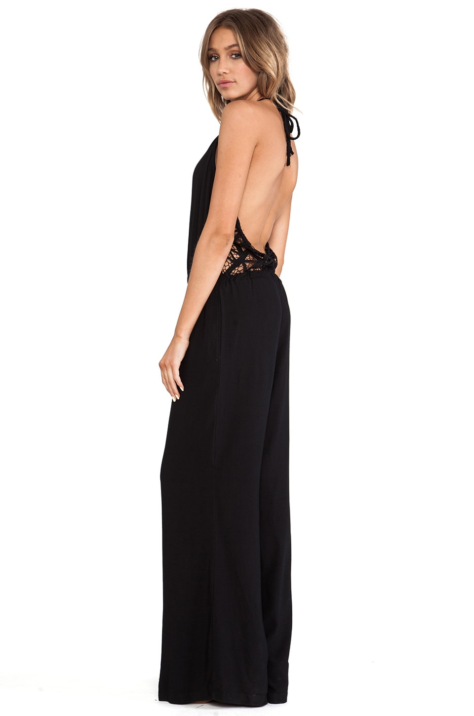 Cleobella Willow Jumpsuit in Black