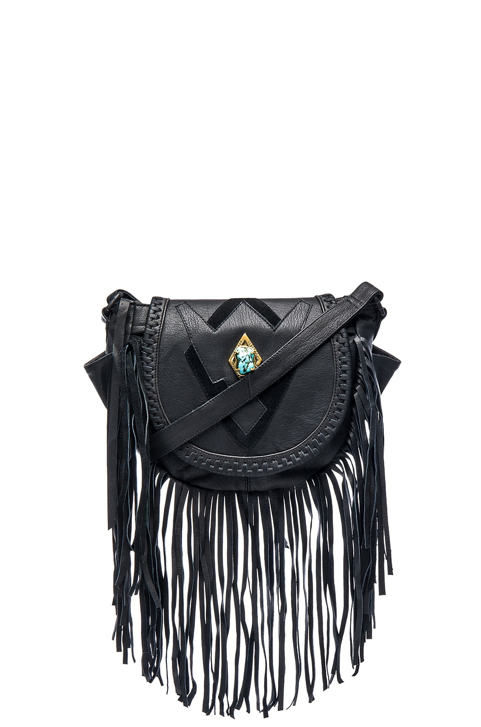 Cleobella Keats Crossbody Bag in Black