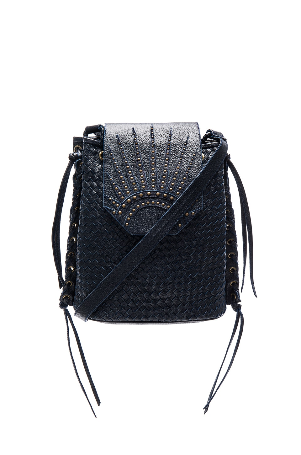 Cleobella x Zella Day for REVOLVE Bucket Bag in Indigo