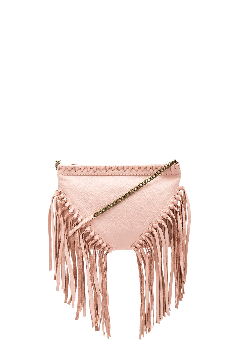 Cleobella Tia Clutch in Blush