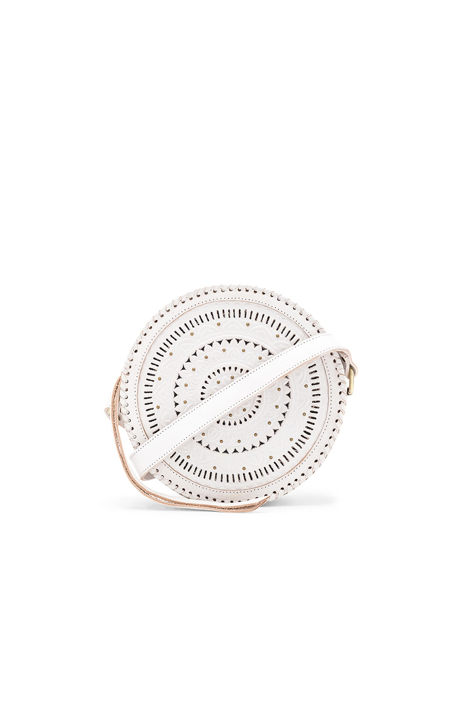 Cleobella Paxton Circle Bag in White