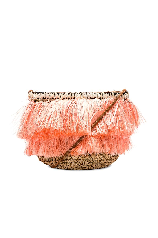 Cleobella Paloma Crossbody Bag in Coral