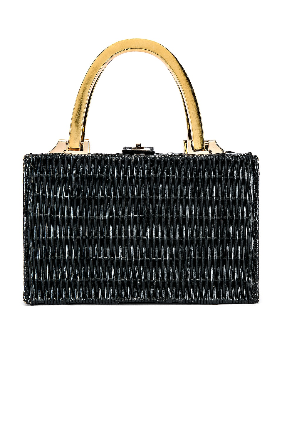 Cleobella Bardot Basket Bag in Black