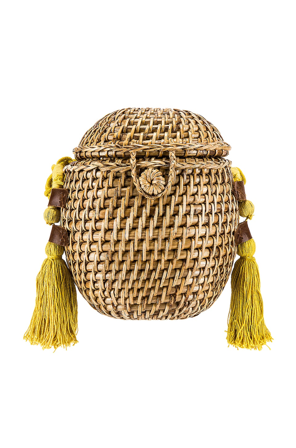 Cleobella Vicente Basket in Lemon