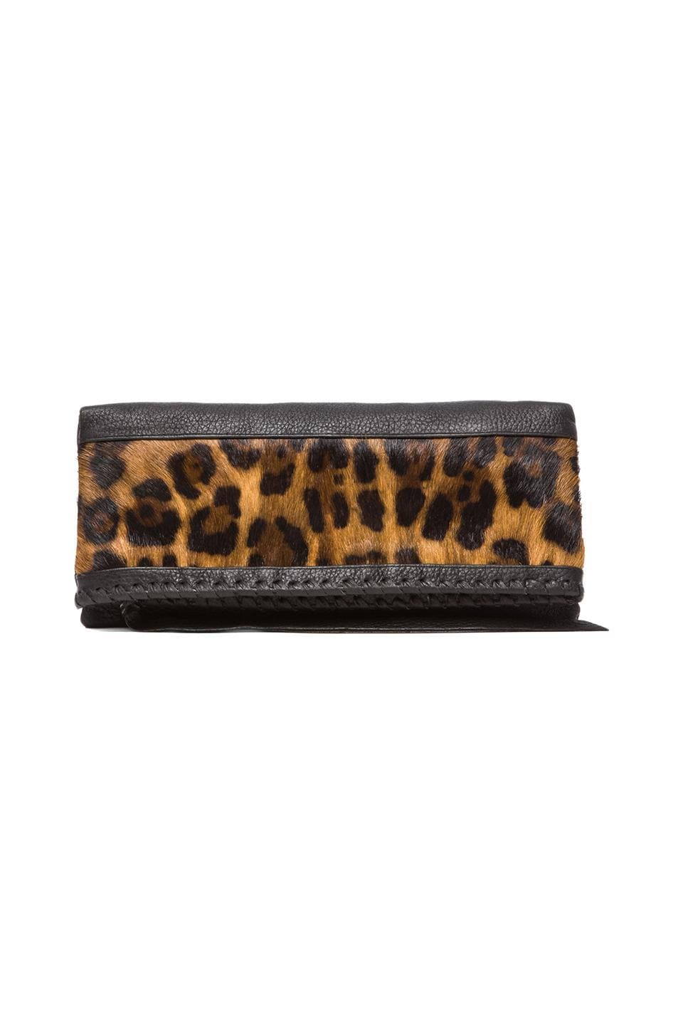 Cleobella EXCLUSIVE Jagger Clutch in Leopard