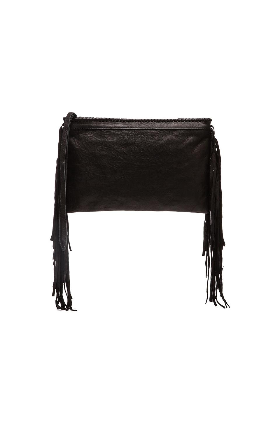 Cleobella Joplin Clutch in Black
