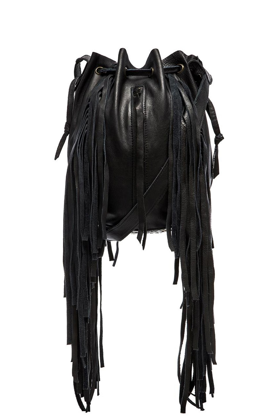 Vanna Fringe Bucket Bag