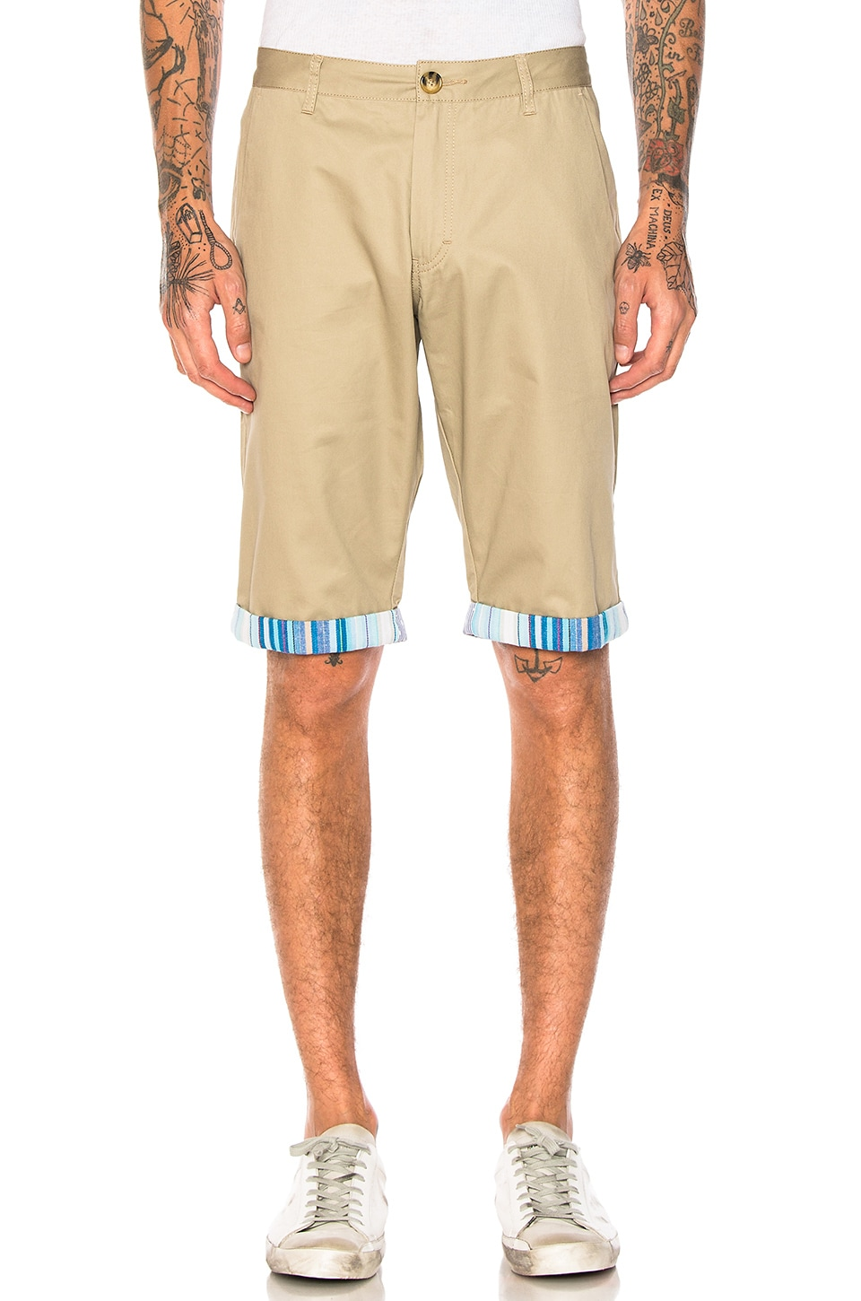 Roll Up Shorts by CLOT