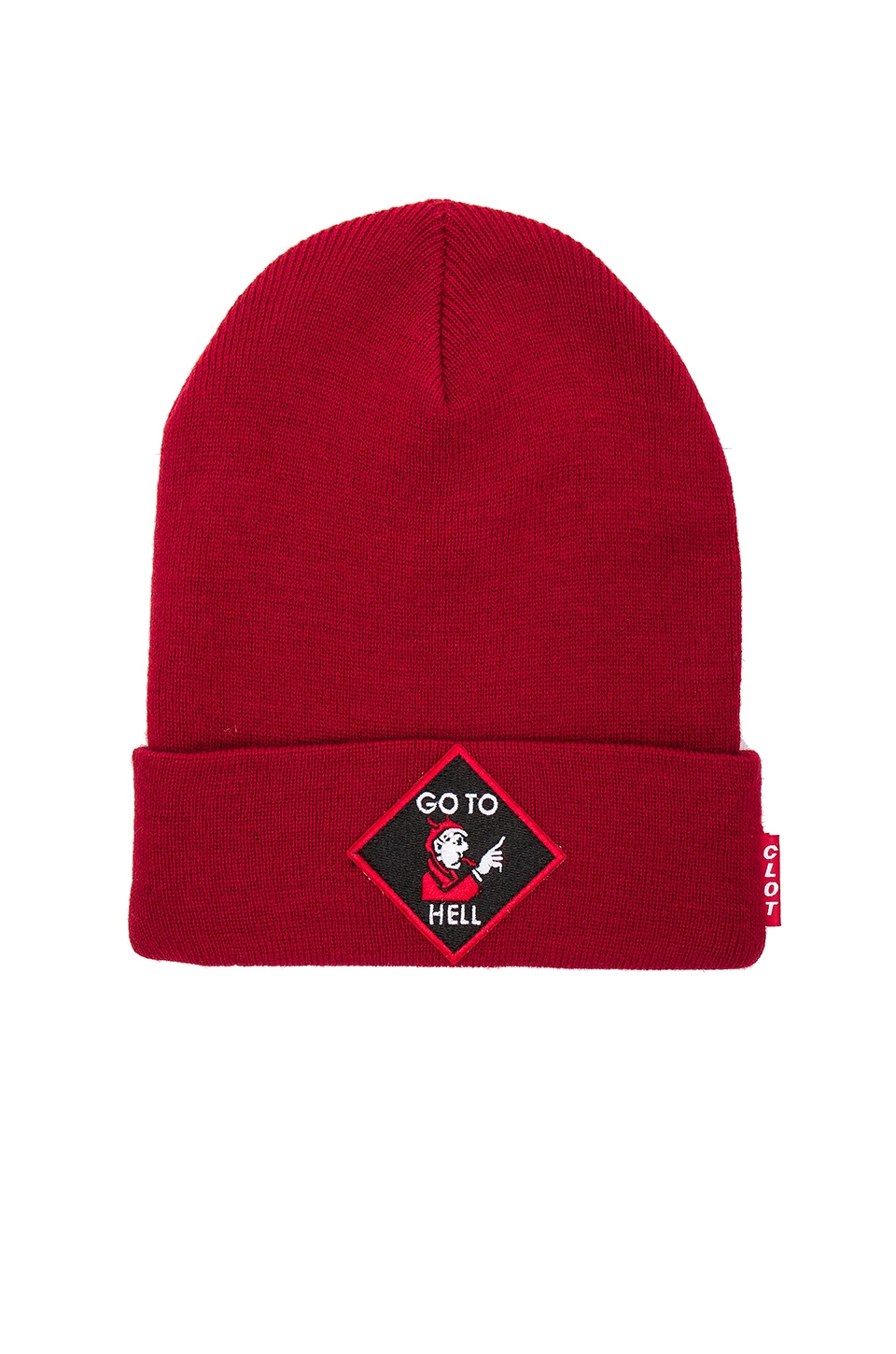 Go To Hell Beanie by CLOT