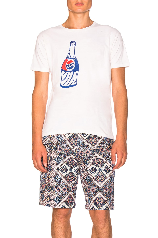 x Zoe Vance Custom Pepsi Tee by CLOT