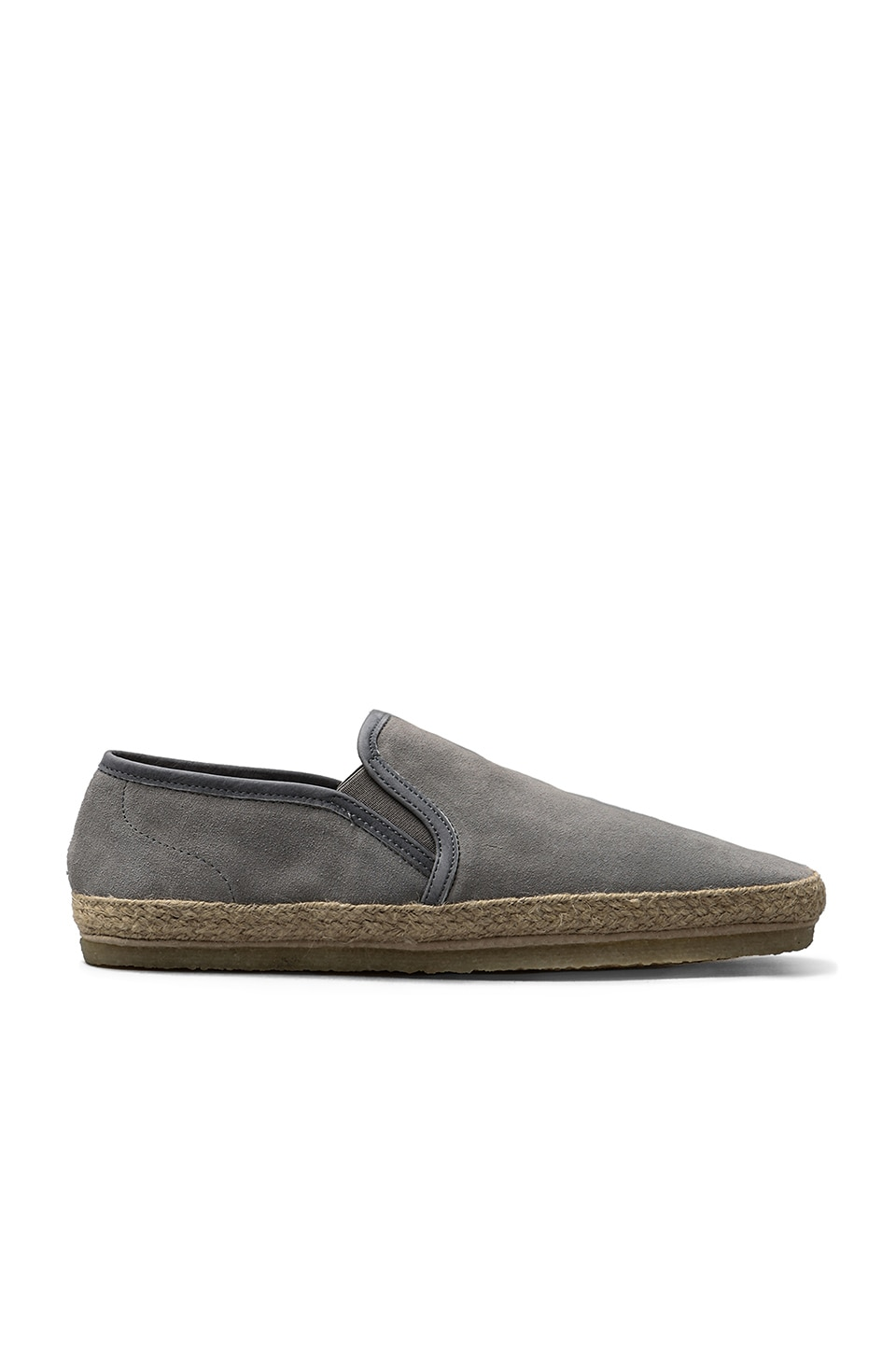 Closed Slip-On in Warm Grey