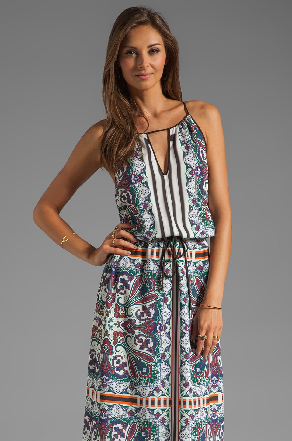 Clover Canyon Paisley Road Dress in Multi