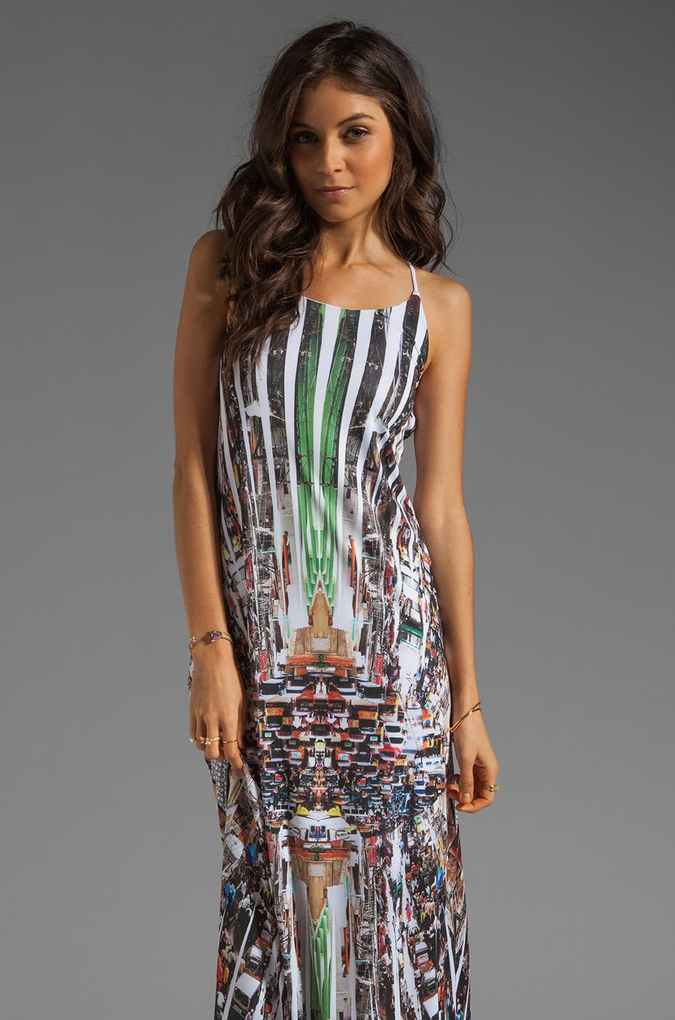 Clover Canyon Stop Traffic Dress in Multi