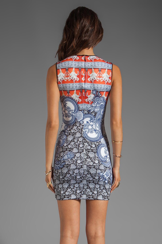 Clover Canyon Henna Neoprene Dress in Multi
