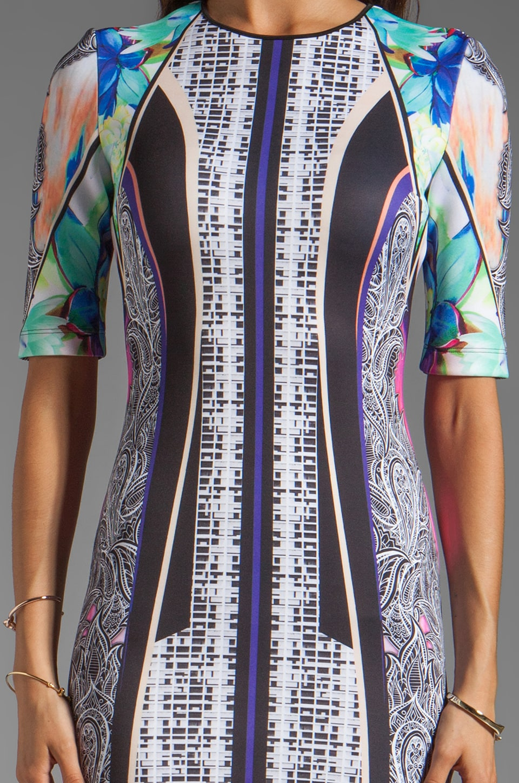 Clover Canyon Jaipur Jungle Neoprene Dress in Multi