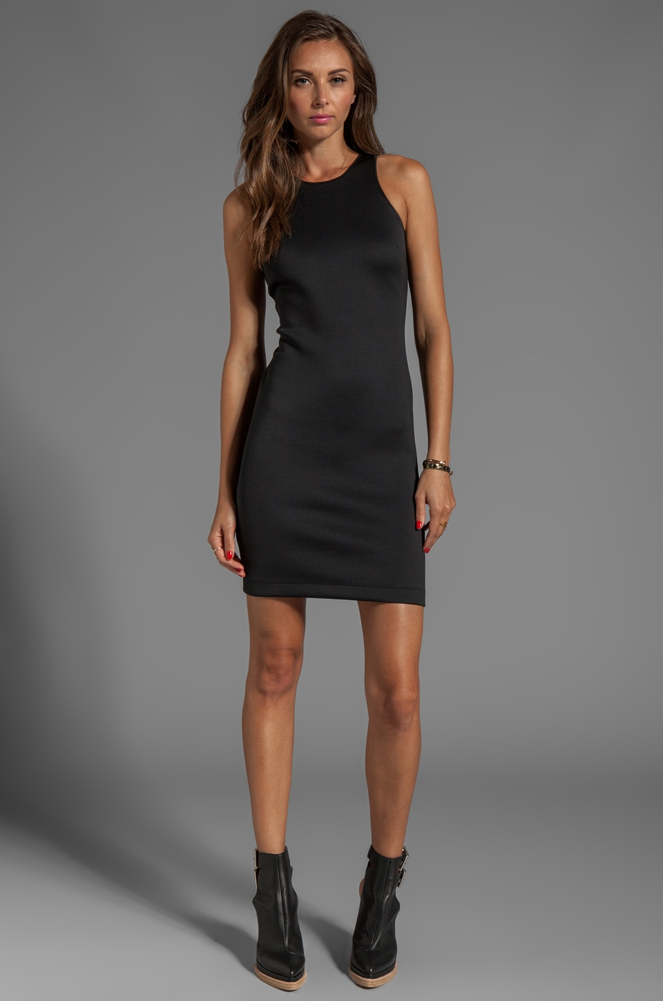 Clover Canyon Neoprene Dress in Black